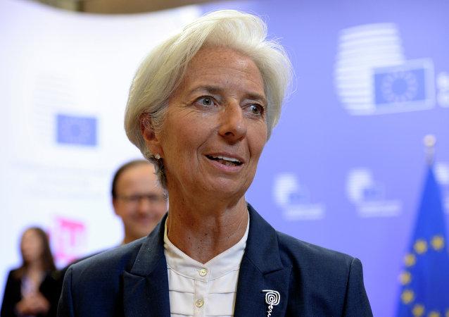 Christine Lagarde, exdirectora gerente del Fondo Monetario Internacional