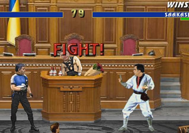 Mortal Kombat de los políticos ucranianos