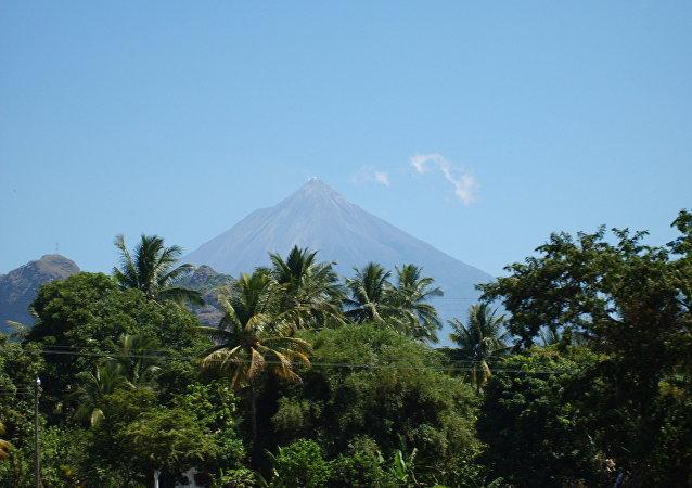 Volcán de Fuego, México (Archivo)