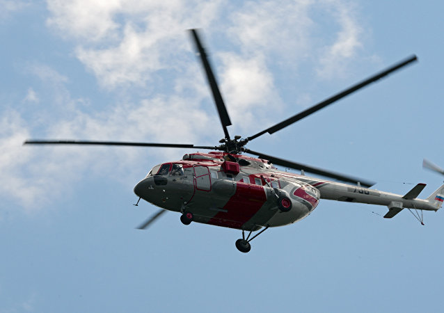 Helicóptero Mi-171 ruso (archivo)