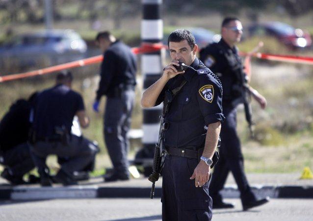 Policía israelí (imagen referencial)