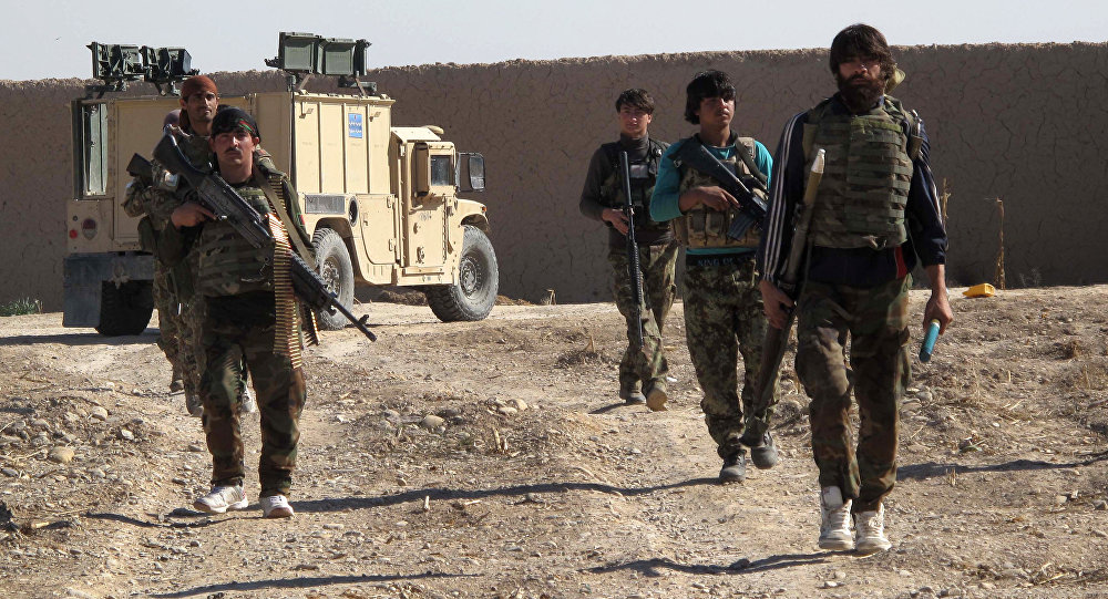Soldados de las fuerzas especiales de Afganistán