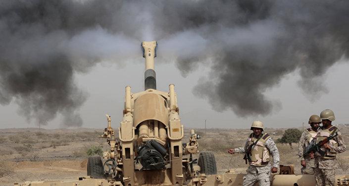 Artillería de Arabia Saudí (archivo)