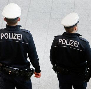Los policías de Alemania