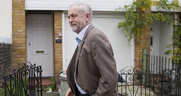 Jeremy Corbyn, líder del Partido Laborista del Reino Unido (archivo)