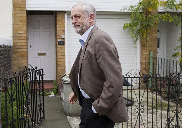 Jeremy Corbyn, líder del Partido Laborista del Reino Unido