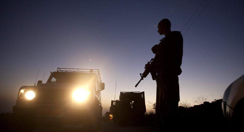 Un soldado israelí