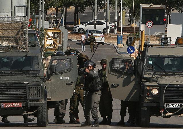 Fuerzas de seguridad israelíes