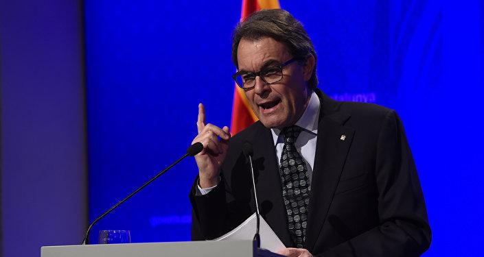 Artur Mas,expresidente catalán