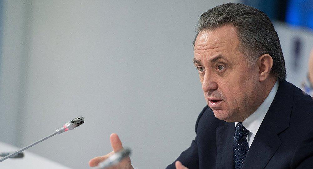 Vitali Mutkó, vice primer ministro ruso y presidente del comité organizador