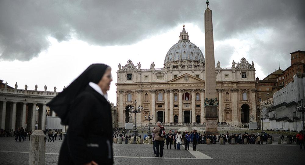 La Plaza de San Pedro, Vaticano