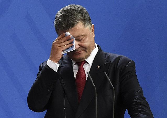 Petró Poroshenko, el presidente ucraniano