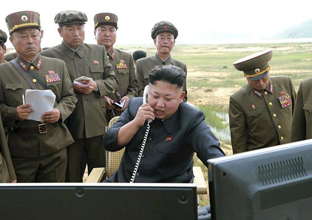 Kim Jong-un, líder norcoreano (archivo)