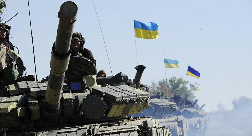 Tanques del Ejército de Ucrania (archivo)