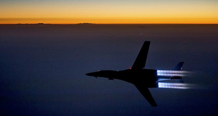 Un avión de la Fuerza Aérea de EEUU en Irak (Archivo)