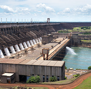 Hidroeléctrica brasileña de Itaipú
