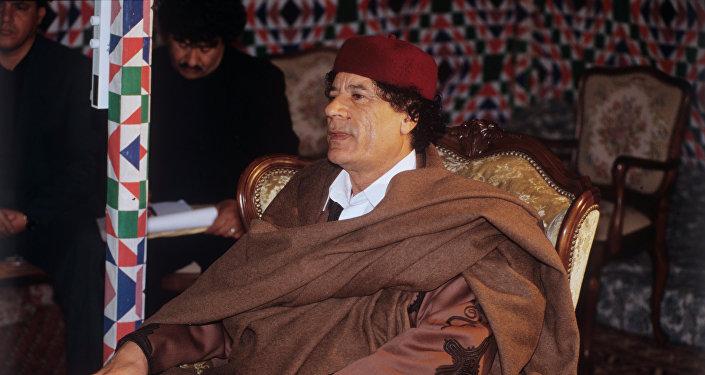 Muamar Gadafi, exlíder libio (archivo)