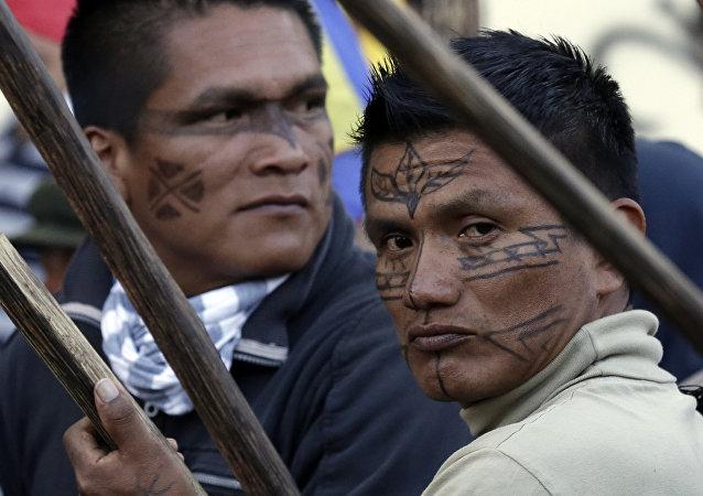 Indígenas de Ecuador