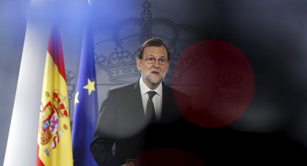 Mariano Rajoy, presidente en funciones del Gobierno de España