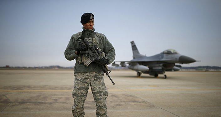 Un militar estadounidense (archivo)