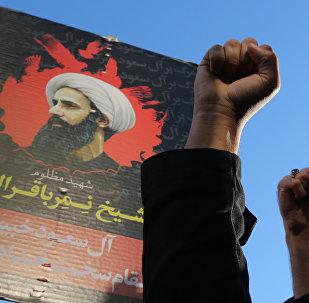Protestas en Irán por la ejecución del misionero chií Nimr Baqir al Nimr en Arabia Saudí