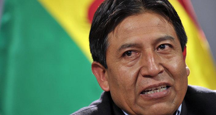 David Choquehuanca, canciller de Bolivia