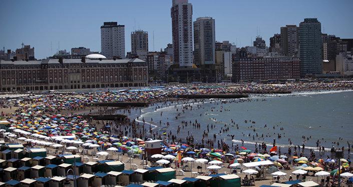 Mar del Plata en Argentina
