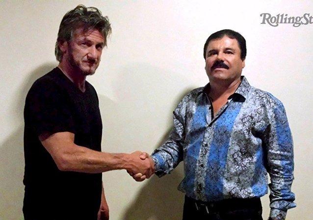 El Chapo en la camisa Barabas