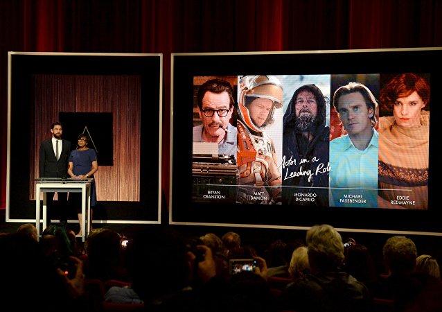 Anuncio de los nominados a los Oscar a Mejor Actor principal