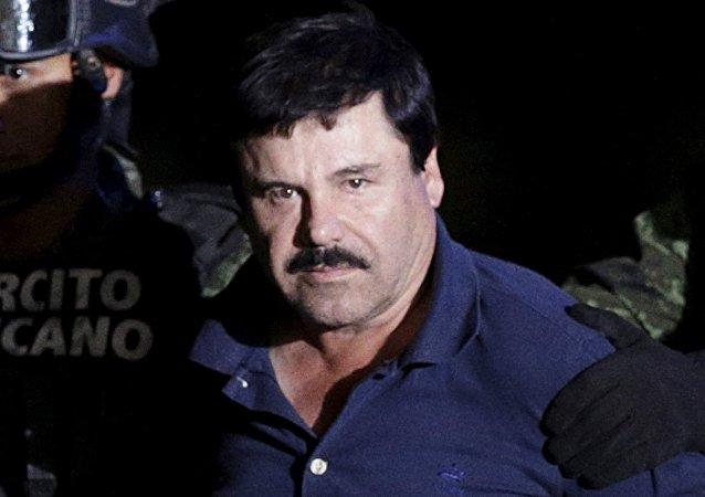 Joaquín El Chapo Guzmán, jefe narcotraficante de México