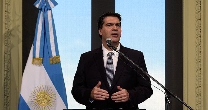 Jorge Capitanich, vicepresidente del Partido Justicialista (PJ)