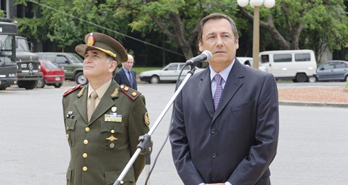 Bari del Valle Sosa, jefe del Estado Mayor Conjunto