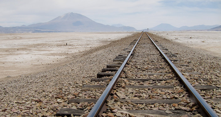 Ferrocarril en Bolivia (Archivo)
