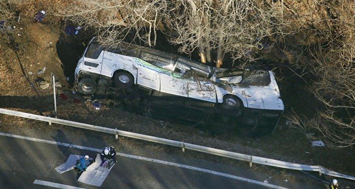 Accidente de bus (Archivo)