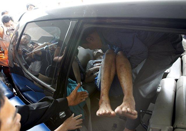 Herido en un atentado en Yakarta
