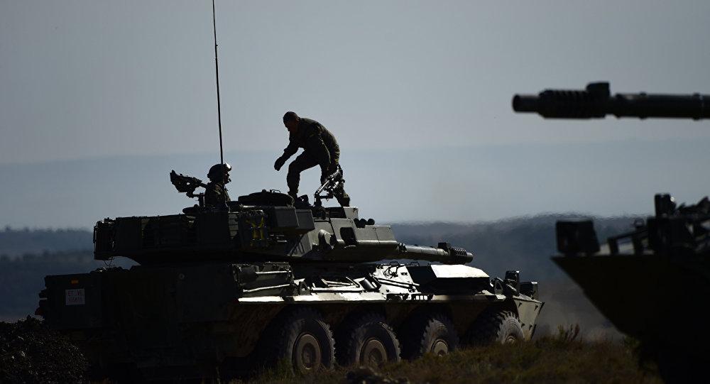 Ejercicios de la OTAN (archivo)