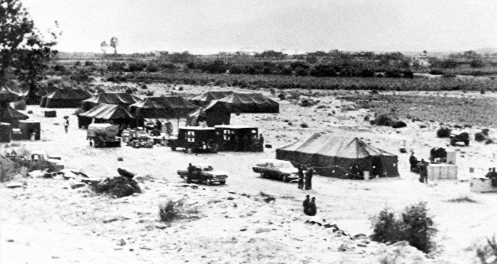 Territorio en Palomares afectado por el accidente nuclear