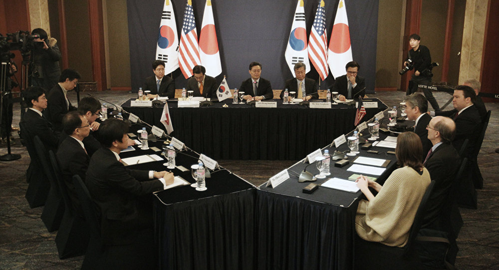 Reunión trilateral (archivo)