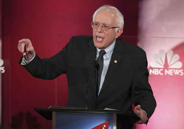 Bernie Sanders, senador de EEUU
