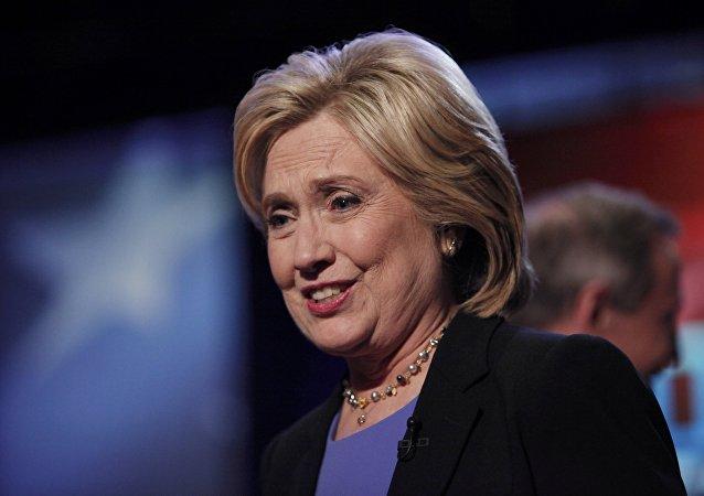 Hillary Clinton, candidata presidencial demócrata de EEUU (Archivo)