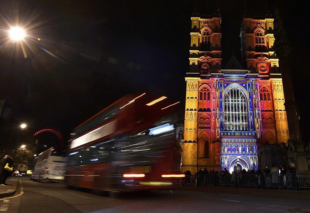 """Festival de luces """"Lumiere"""" en Londres"""