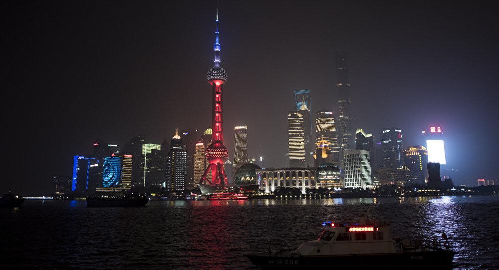 La ciudad china de Shanghái