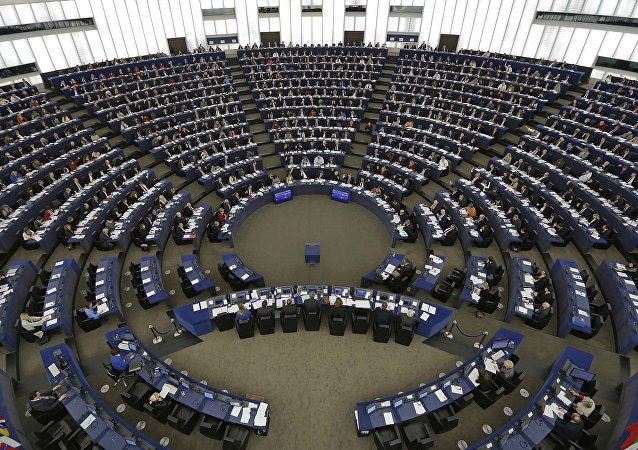 Parlamento Europeo en sesión