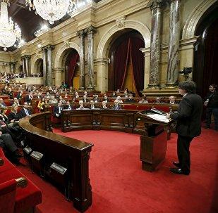 El Parlamento de Cataluña