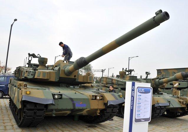 Tanque surcoreano K-2 Black Panther
