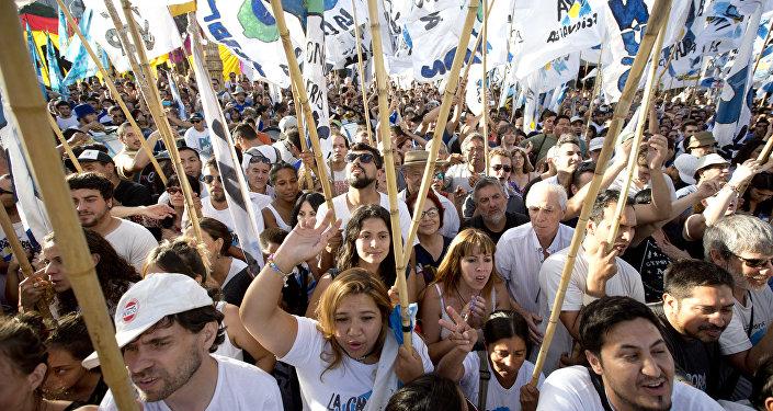 Activistas exigen liberación de Milagro Sala