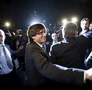 Carles Puigdemont, el presidente de Cataluña