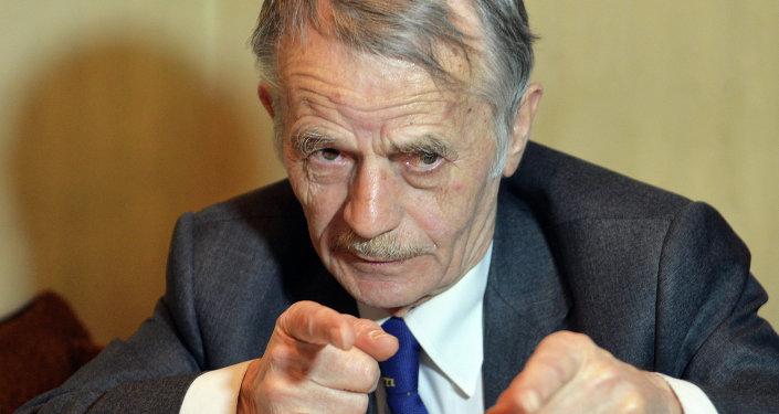 Mustafa Cemilev, exlíder del autodenominado Congreso de los Tártaros de Crimea