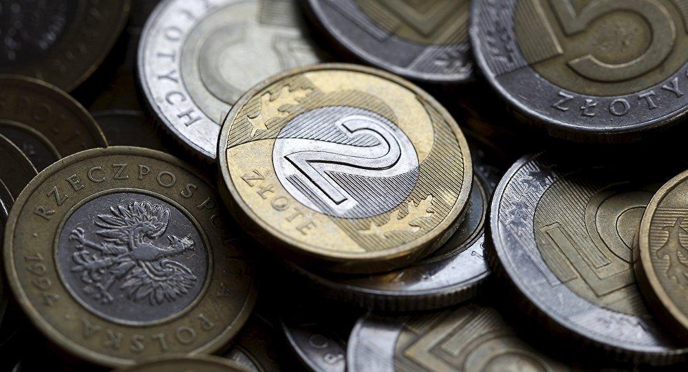 Monedas polacas