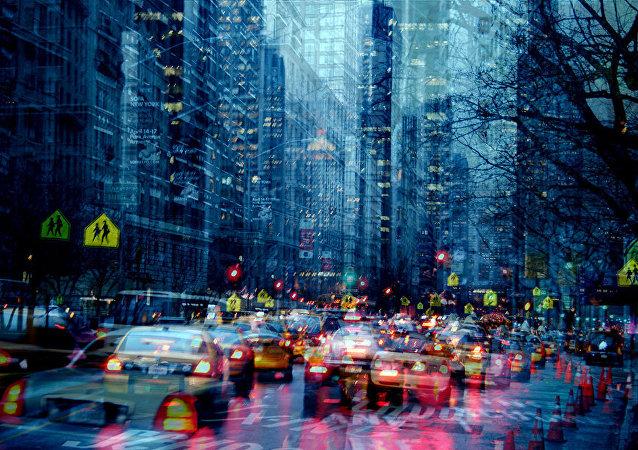 Atasco en Nueva York